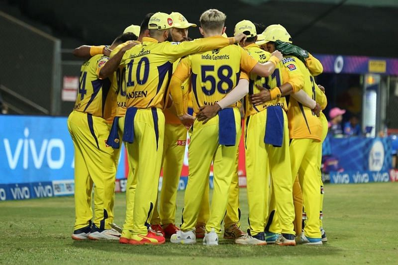 The Chennai Super Kings have won five matches on the trot in IPL 2021 (Image Courtesy: IPLT20.com)