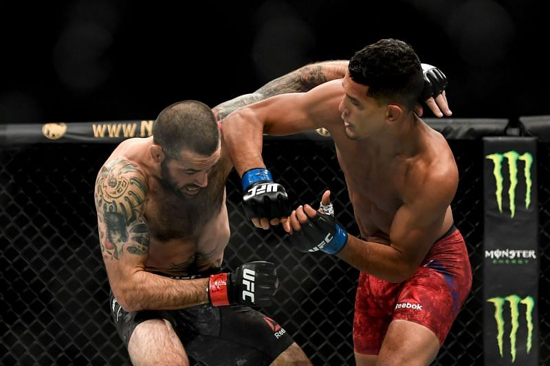 Miguel Baeza has impressed in his UFC career to date.