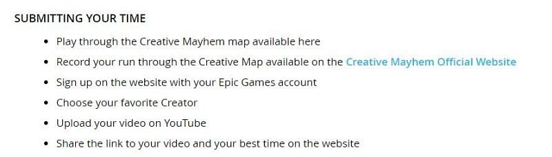 Players can follow these steps to participate in the Fortnite Creative Mayhem. Image via Epic Games