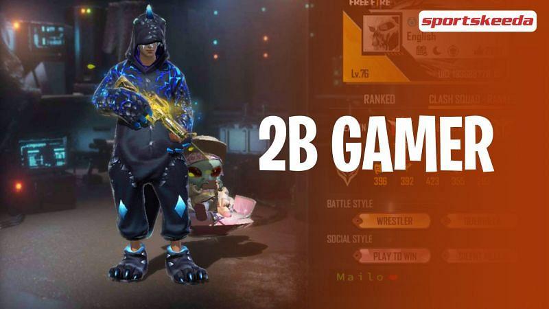 2B Gamer's Free Fire ID is 133688778.