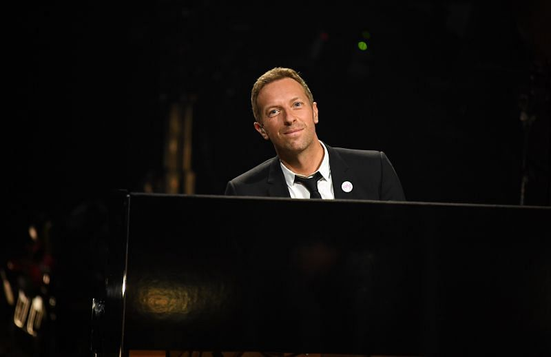 Chris Martin performs at the 63rd Annual GRAMMY Awards in March 2021 (Image via Getty)