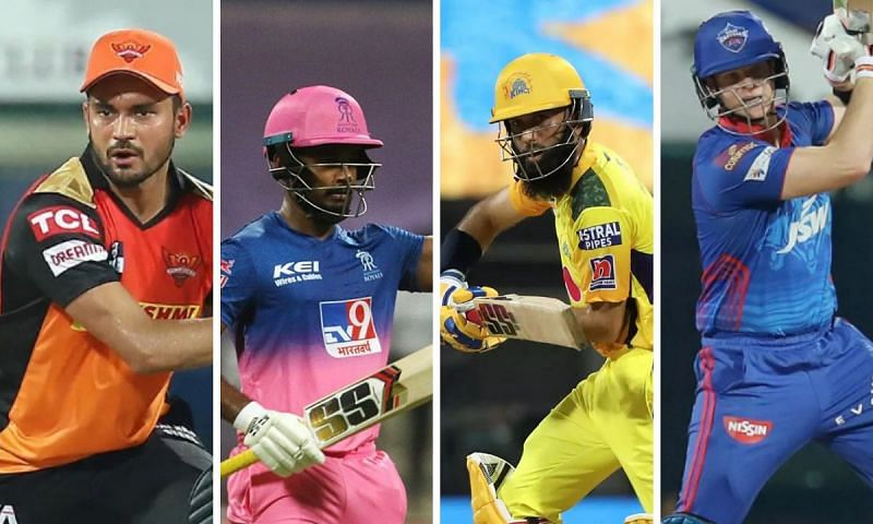 IPL 2021: Ranking the No.3 batsmen of all eight teams