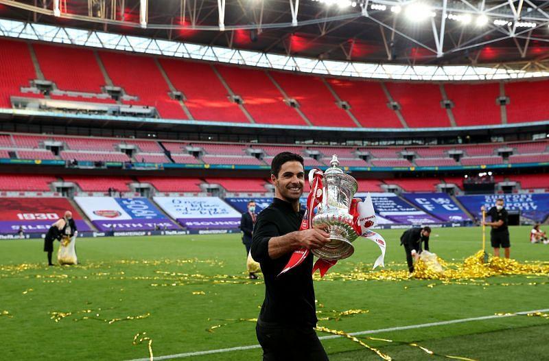 2020 FA Cup Final - the undoubted high of Arteta