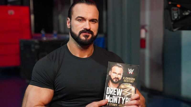 Drew McIntyre has a new book in stores