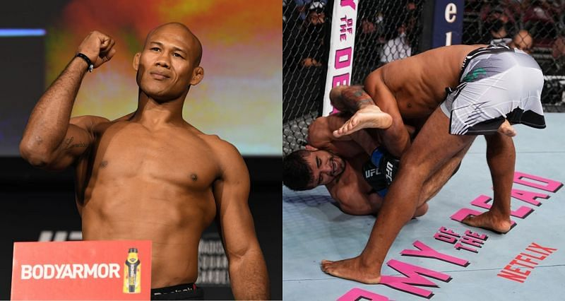 What is a humerus fracture that Jacare Souza suffered against Andre Muniz at UFC 262?