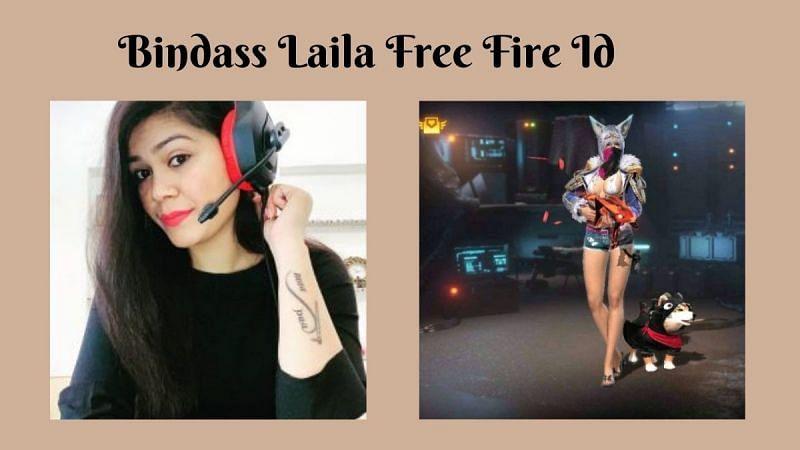 Bindass Laila की Free Fire ID