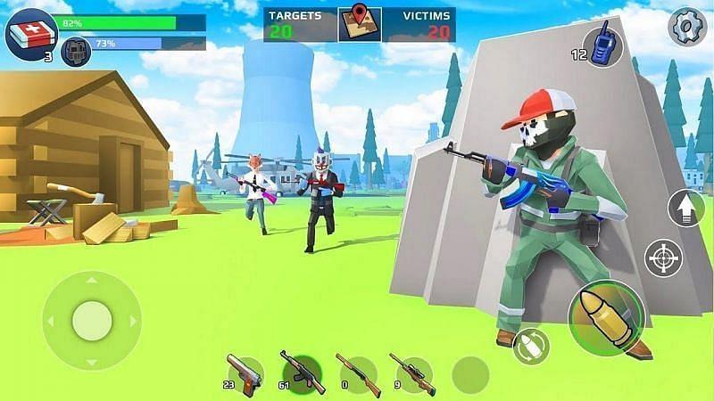 बैटल रॉयल - FPS शूटर