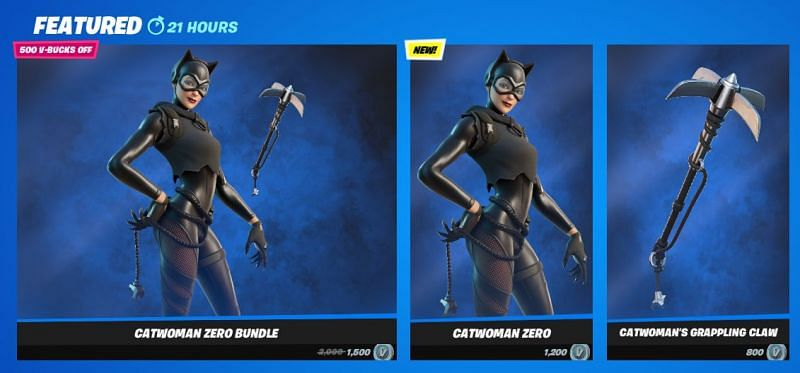 Catwoman is Currently in the Fortnite Item Shop {Image via Epic Games}