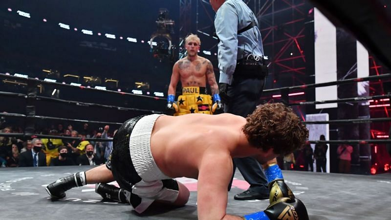 Jake Paul recently secured a spectacular first-round TKO victory over Ben Askren