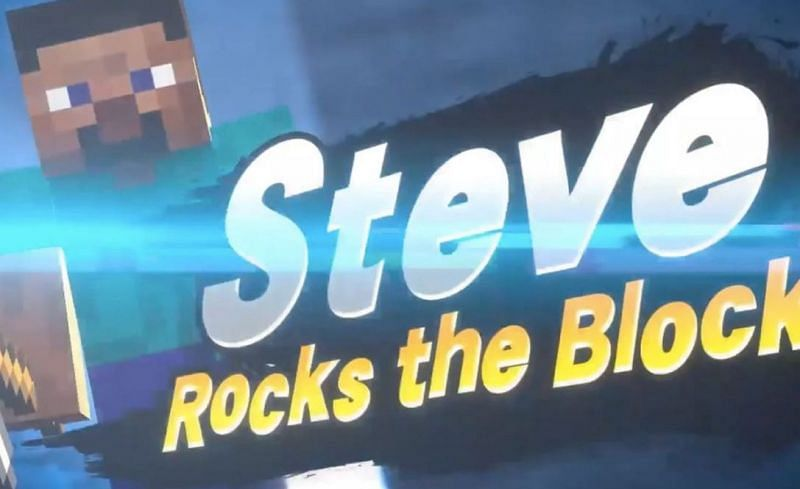 Shown: Steve as seen in the game Super Smash Brothers (Image via jeremydamen)