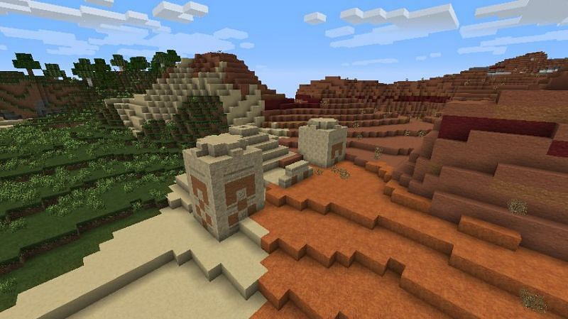 This biome is pretty rare to find (Image via Minecraft Forum)
