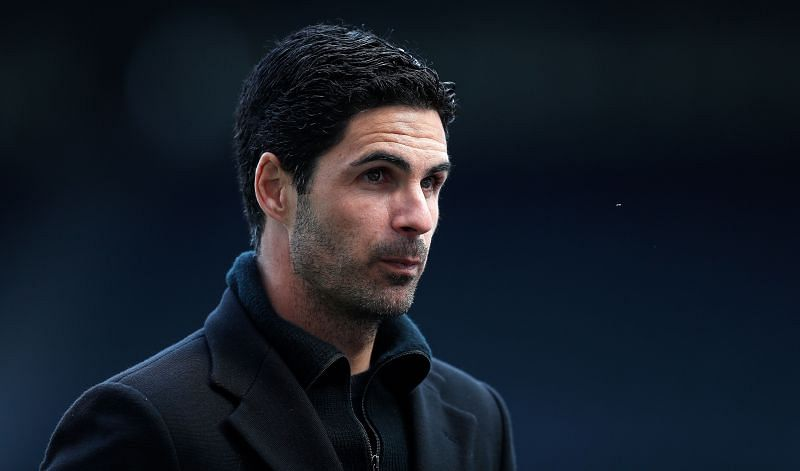 Arsenal manager Mikel Arteta. (Photo by Lee Smith - Pool/Getty Images)