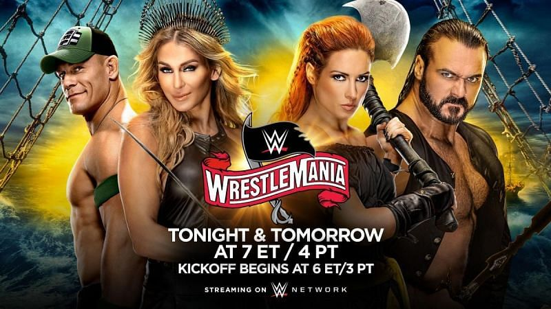 WWE WrestleMania 36 was the first time the event was held across two nights in recent memory.