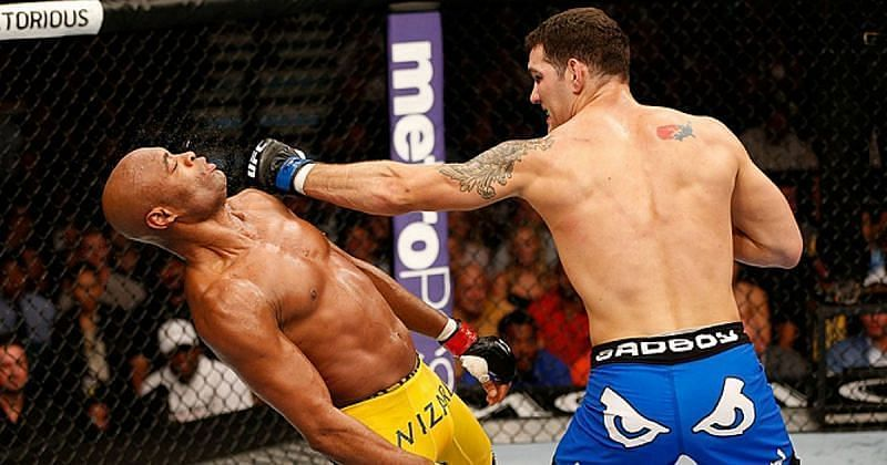 Anderson Silva finished his UFC career with seven losses in his last eight fights