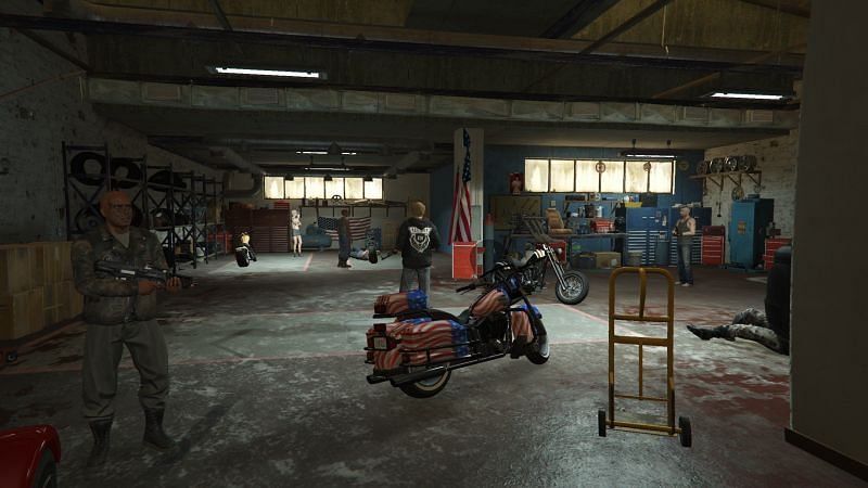 MC presidents can spawn any motorcycle they own right next to them (Image via gta5-mods)