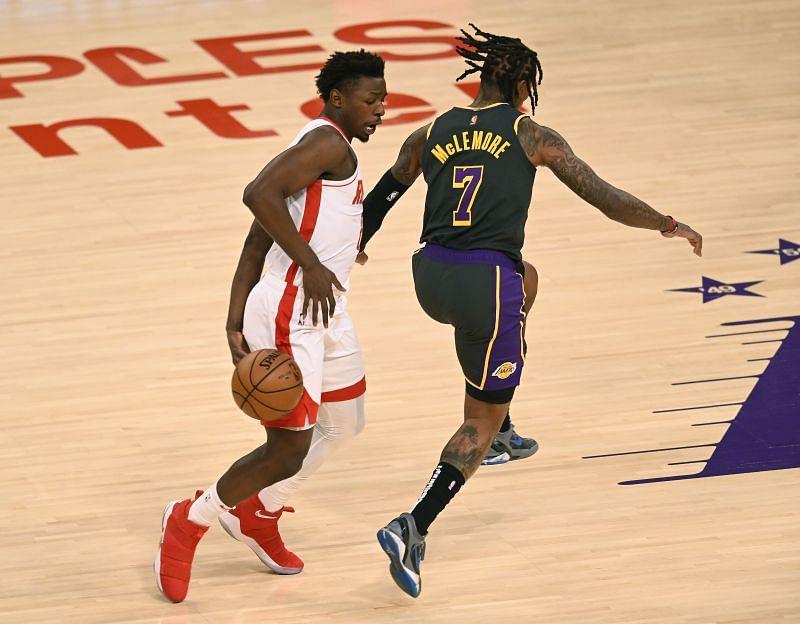 Houston Rockets's Jae'Sean Tate