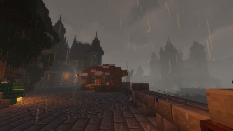 Raining over a castle (Image via digitalmarketingspecialists.it)