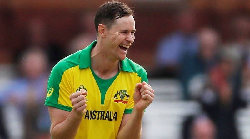 Jason Behrendorff did his bit to help India