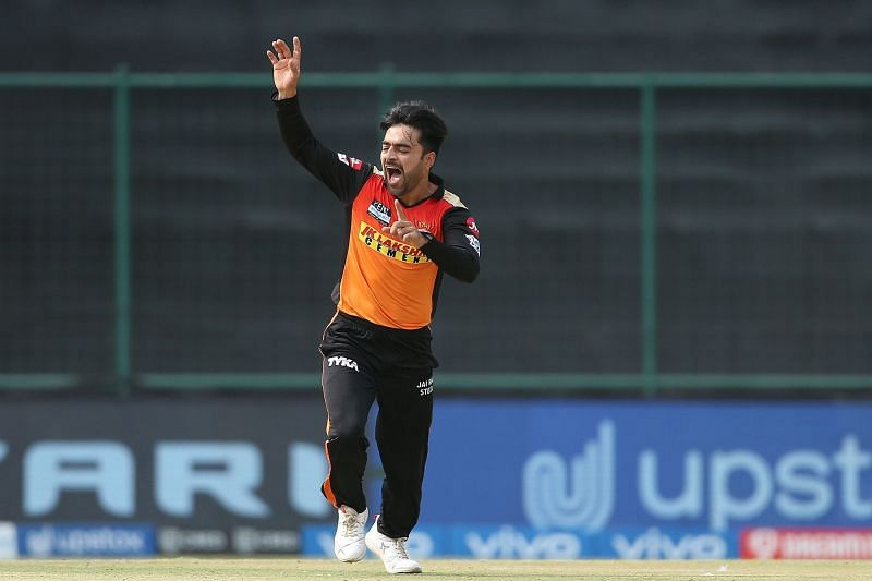 Rashid Khan is the only Sunrisers Hyderabad bowler to hold his own in IPL 2021 [P/C: iplt20.com]