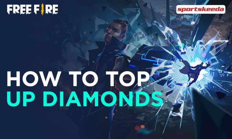 How to top up Free Fire diamonds