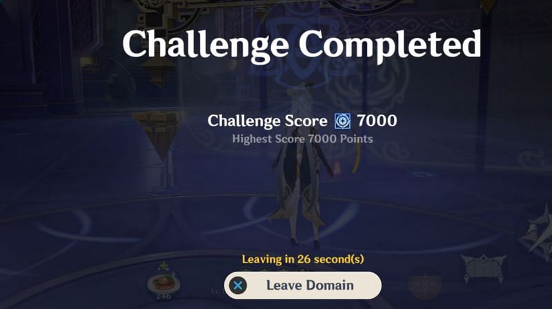 Getting more than 5000 points on each challenge is not necessary to get all the rewards