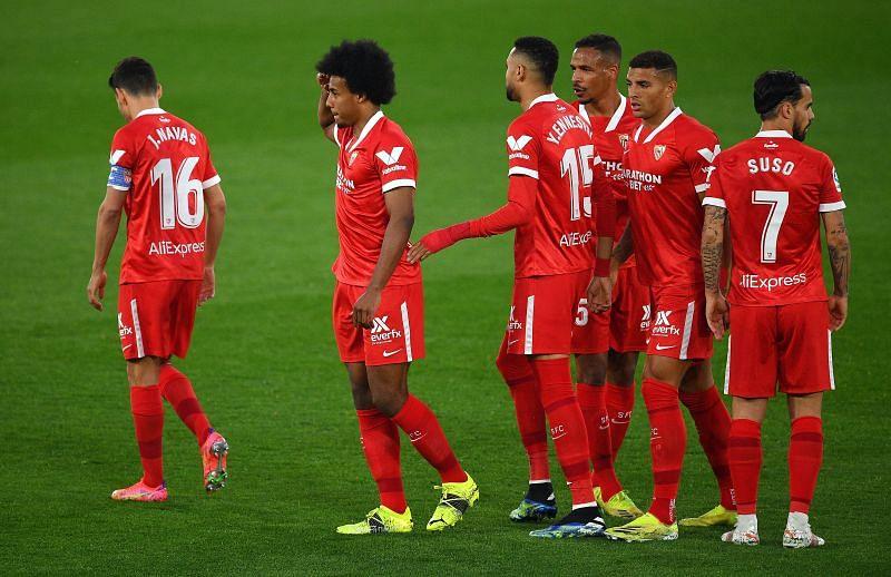 Sevilla play Valencia on Wednesday