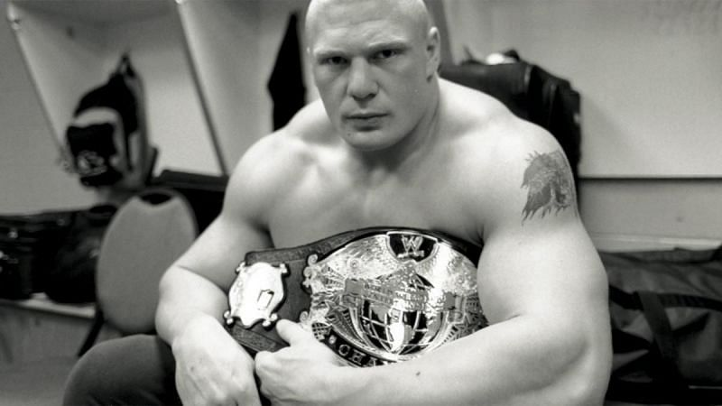 Brock Lesnar held the WWE Undisputed Championship in 2002