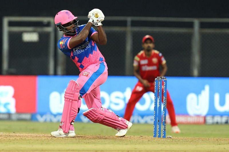 Sanju Samson smashed the first century of IPL 2021 [P/C: iplt20.com]