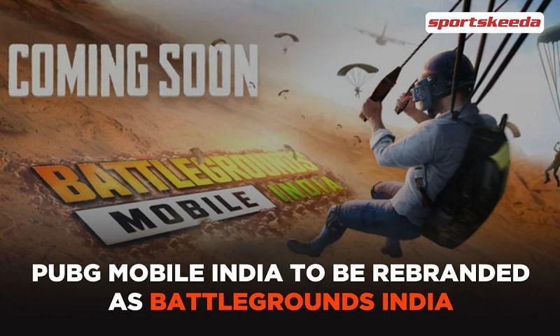 PUBG Mobile India to be renamed as Battlegrounds Mobile India? (Image via Sportskeeda)