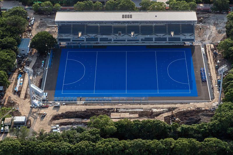 All the Tokyo Olympics hockey matches will be held at the Oi Hockey Stadium.