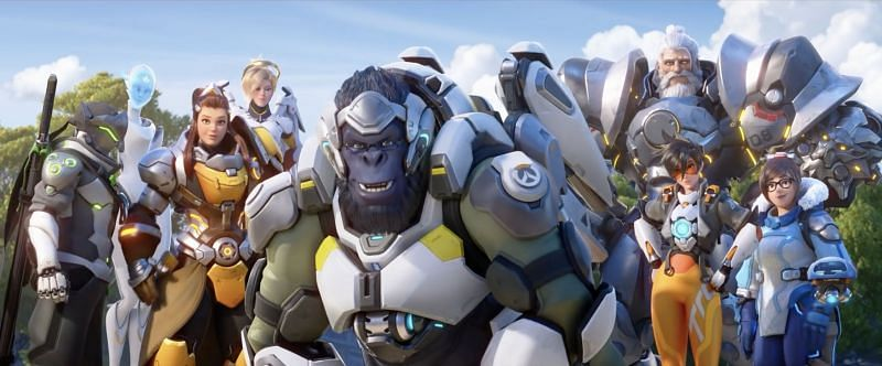 Blizzard's live stream on Overwatch 2 revealed quite a lot (Image via Blizzard)