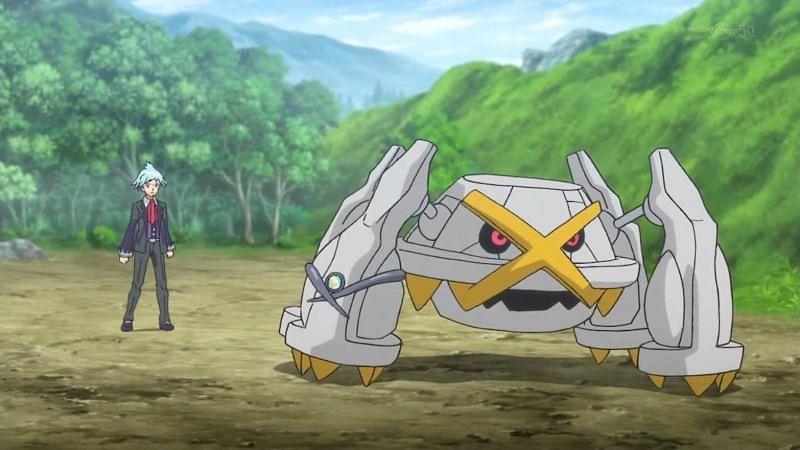 Metagross in the anime (Image via The Pokemon Company)