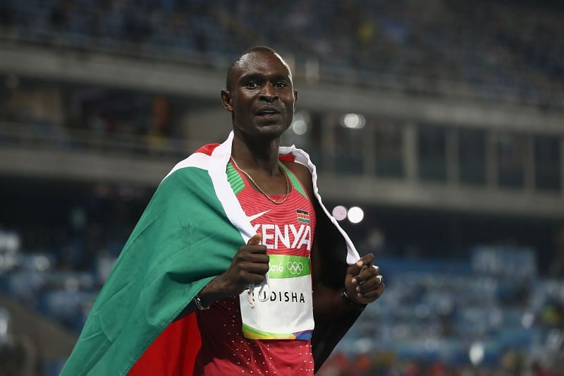 David Rudisha will not compete at the Tokyo Olympics