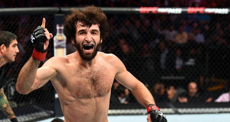 Zabit Magomedsharipov was removed from official UFC rankings on April 26, 2021