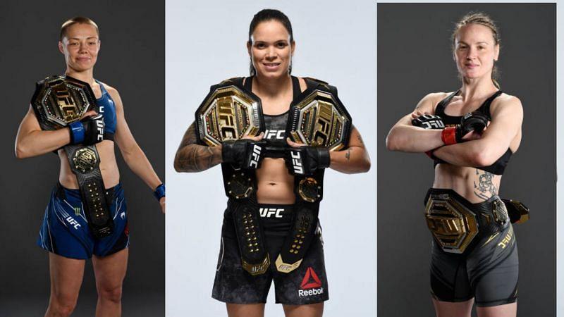UFC women champions