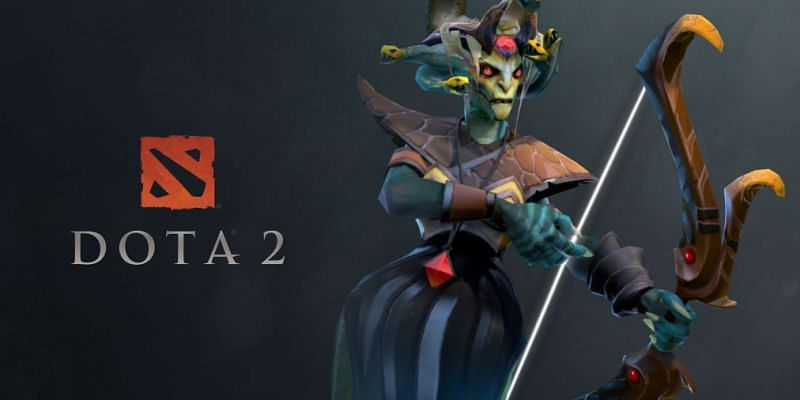 Medusa, the Gorgon is one of the best carries in Dota 2 7.29c. (Image via Valve)