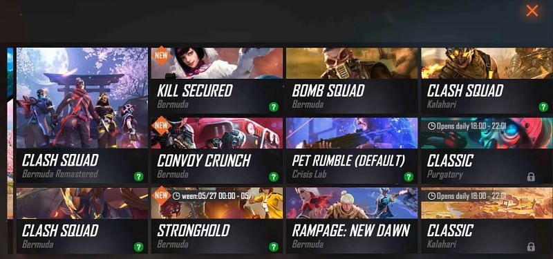 A new Rampage: New Dawn is available in Advance Server (Image via ALPHA FREEFIRE / YouTube)