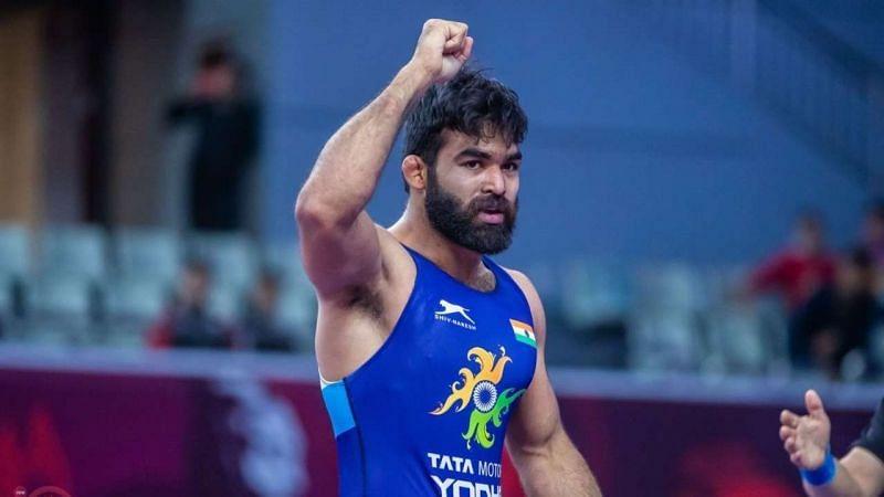 Greco Roman wrestler Gurpreet Singh is India