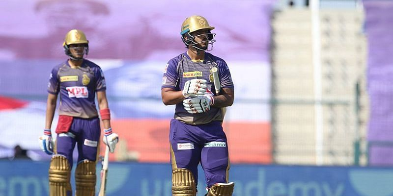 Nitish Rana and Shubman Gill have repeatedly failed to get KKR off to flying starts [Credits: IPL]
