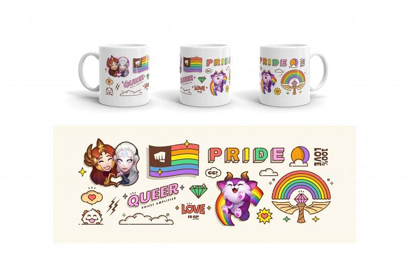 Pride Celebration Merchandise (Image via Riot Games)