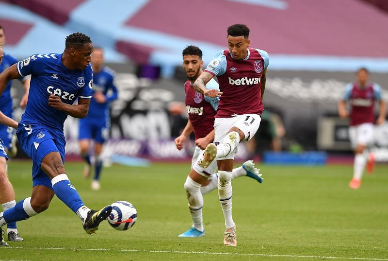 Jesse Lingard has scored nine goals and provided three assists in 13 Premier League appearances for West Ham United