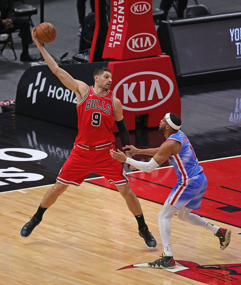 Nikola Vucevic of the Chicago Bulls.