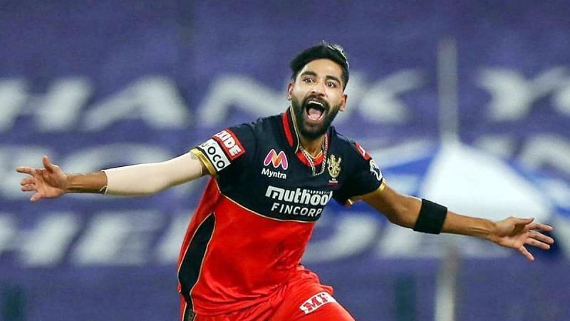 Mohammed Siraj was one of RCB