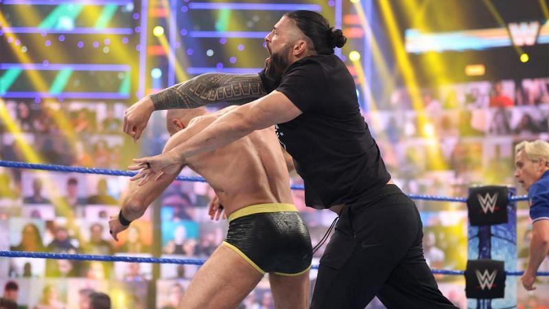 Roman Reigns buscará defender su título en WrestleMania Backlash
