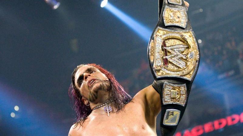 Jeff Hardy is a former WWE Champion.