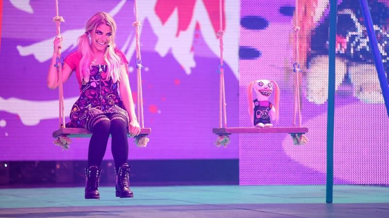 Alexa Bliss made her intentions clear on WWE RAW last week