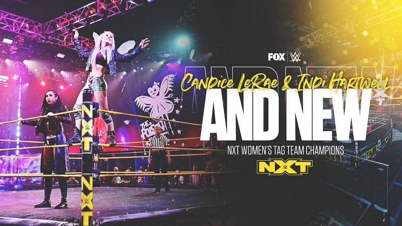 Candice and Indi are your new NXT Women