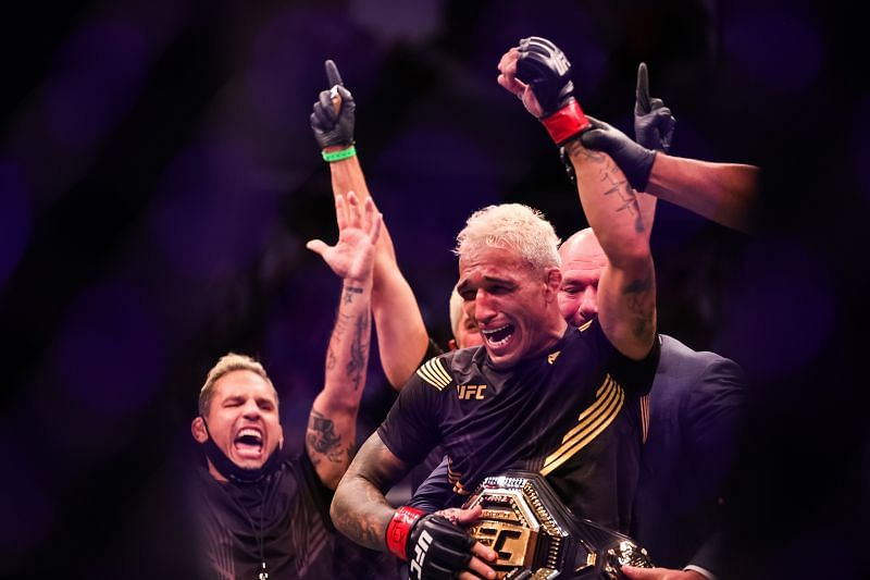 UFC lightweight champion Charles Oliveira led the payday in UFC 262 salaries