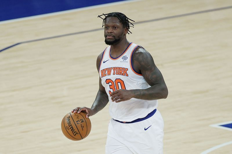 Julius Randle leads the New York Knicks in minutes played