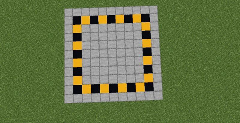 Area for the wheat farm (Image via Minecraft)